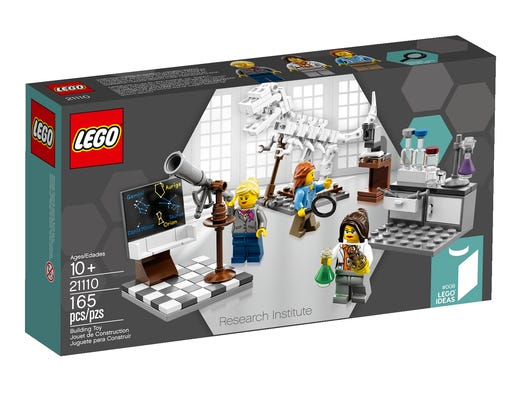 Lego's new Research Institute kit, released Aug. 1, is already sold out. Could it be because it features three female scientists?