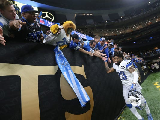NFL: Detroit Lions at New Orleans Saints