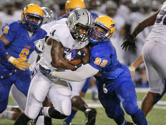 Carmel beat Ben Davis 37-14 in October. Who will prevail this weekend?