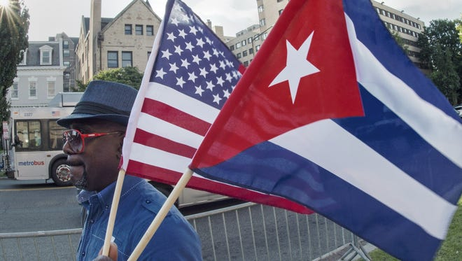 Why normal relations with Saudi Arabia but not Cuba?