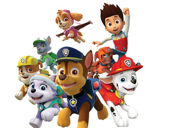 """""""Paw Patrol Live! Race to the Rescue"""" logo"""