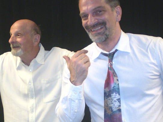 H. G. Brown and Stuart Mohr star in A.C.T. Studio Theatre's