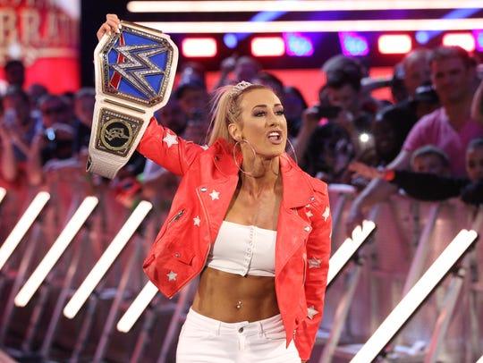 WWE superstar Carmella