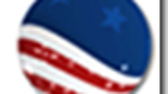 The Riverside County Registrar of Voters' former logo.