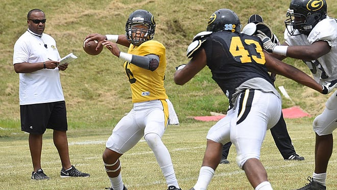 Quarterbacks were the center of attention at Grambling's spring game.