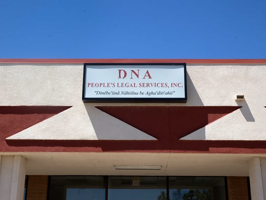 The offices for DNA People's Legal Services, Inc.,