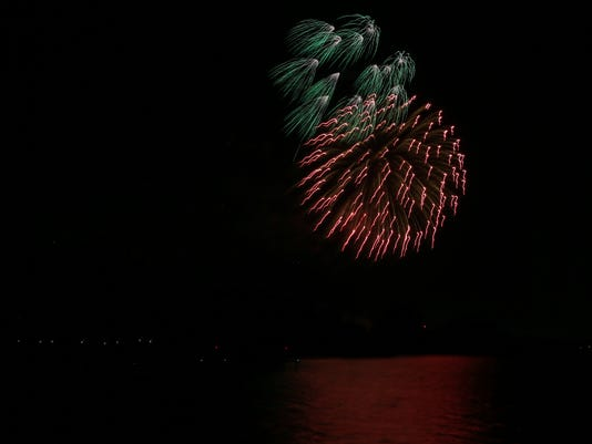 Lake Nasworthy Fourth of July fireworks show 2018