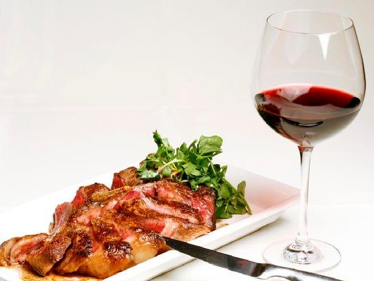 Dry Aged Porterhouse at Blue Morel Restaurant & Wine