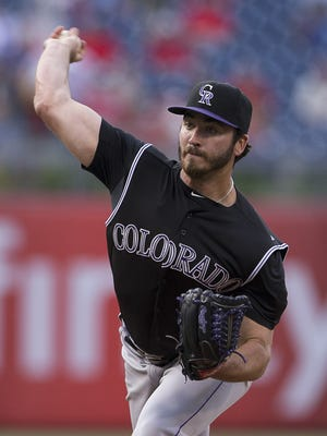 Chad Bettis pitched eight shutout innings to beat the Phillies.