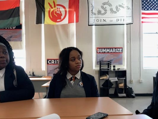Freedom Prep students talk role models