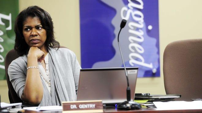 Metro Schools Board of Education Chairman Sharon Dixon Gentry.