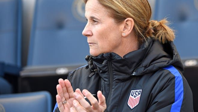 United States women's soccer coach Jill Ellis is expected to attend Saturday night's match at 7 between the Western New York Flash and Sky Blue FC in Rochester as she evaluates players in preparation for the summer Olympics.