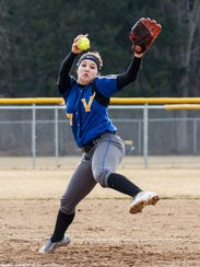 New Berlin West senior Cheyenne Sowinski is a two-time Woodland West player of the year.