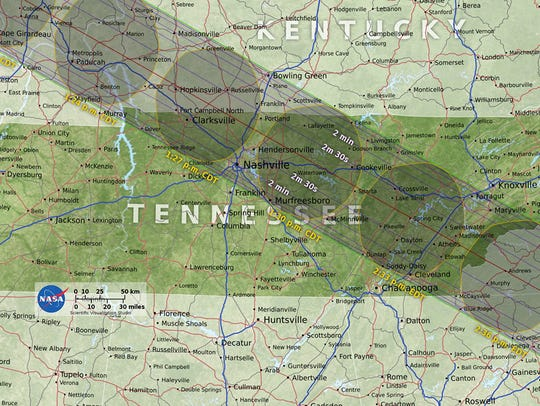 Great Tennessee Solar Eclipse