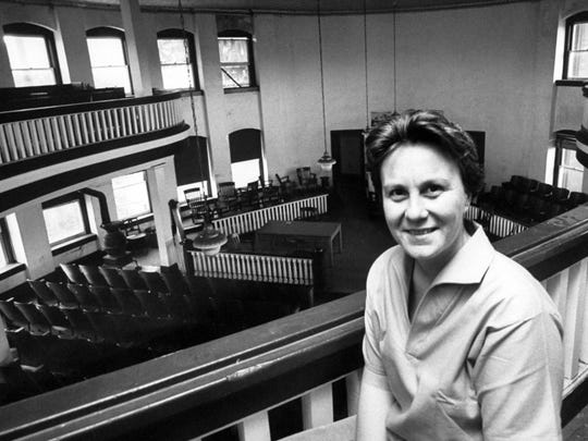 "Harper Lee not long after ""To Kill a Mockingbird"" was"