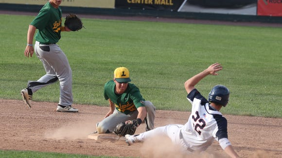 Lakeland defeated Byram Hills 3-2 in the Section 1 Class A baseball championship game at Palisades Credit Union Park in Pomona May 26, 2018.
