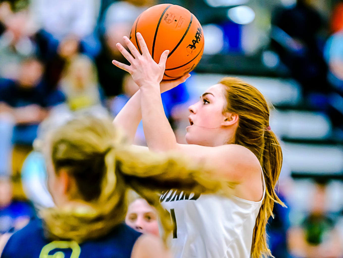 East Lansing senior guard Taryn McCutcheon was recently named to BCAM's Best of Best team.