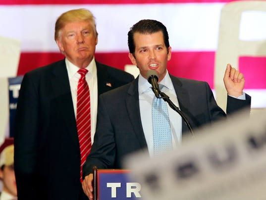 EPA (FILE) USA TRUMP JR. RUSSIA POL ELECTIONS USA LA