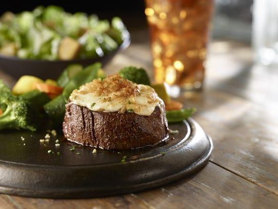 Parmesan Crusted Filet at LongHorn Steakhouse