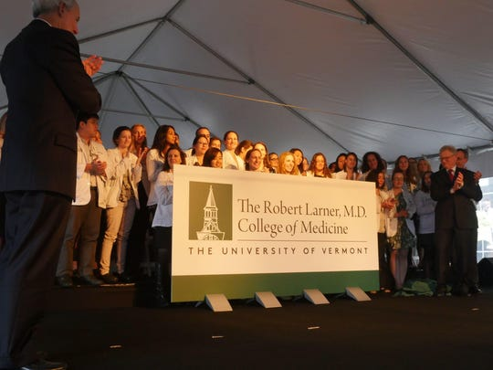 The UVM College of Medicine was renamed the Larner College of Medicine in September of 2016 after a $66 million donation from Robert and Helen Larner, longtime donors to the medical school. Robert Larner died Thursday in California at the age of 99.