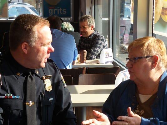 WSD coffee with chief