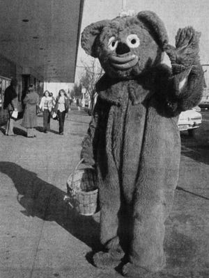 Cinnamon Bear was a fixture of the holiday at Lipman's in downtown Salem. His furry embrace and yummy Cinnamon Bear cookies greeted scores of youngsters who visited the department store over the years.