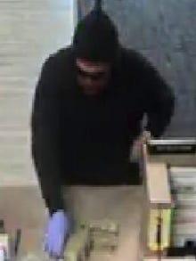 A man on Jan. 20 robbed the BBVA Compass bank at 1610 N. Zaragoza Rd.