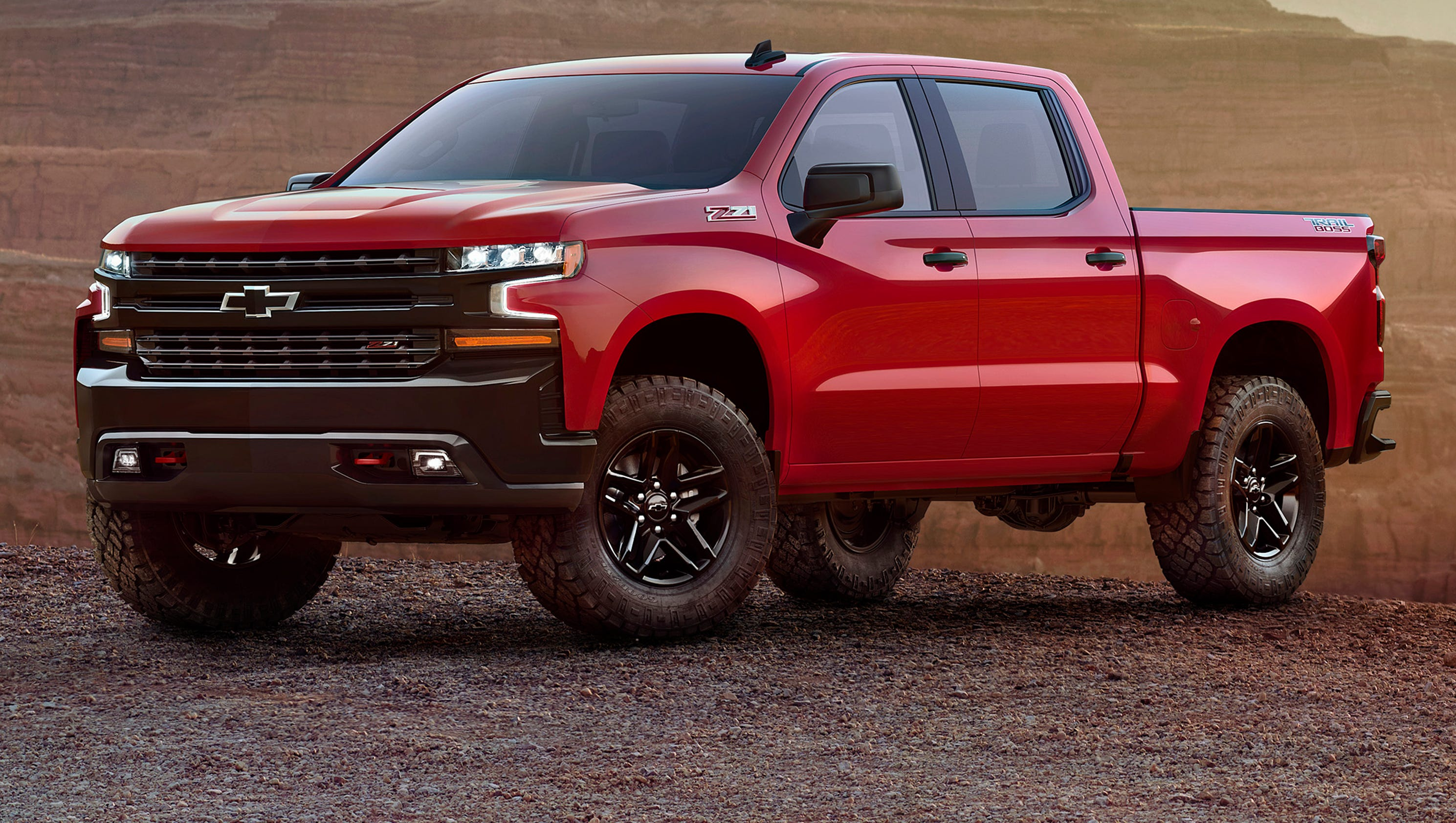 New Chevy Truck >> Chevrolet Silverado Gets New Look For 2019 And Lots Of Steel