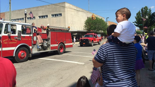 The annual Memorial Day parade in Endicott proceeded down Washington Avenue.