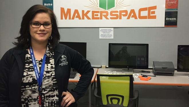 Rachel Arizaga is the director of Morale, Welfare and Recreation-run libraries at Fort Bliss. The Mickelsen Community Library will host a Teen Tech Week from March 6-11.