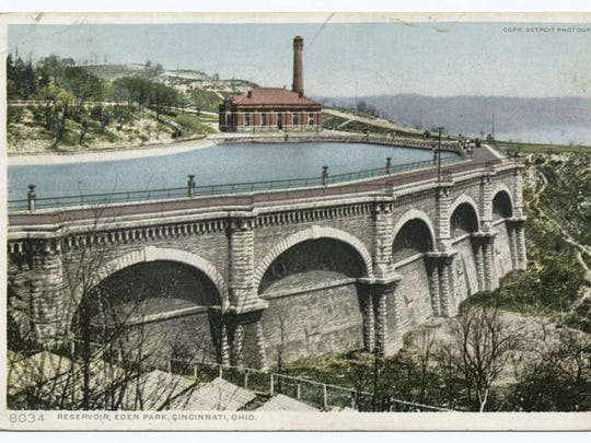 The Miriam and Ira D. Wallach Division of Art: Reservoir, Eden Park, Cincinnati, Ohio. Detroit Publishing Company postcards. Produced from: 1898-1931.