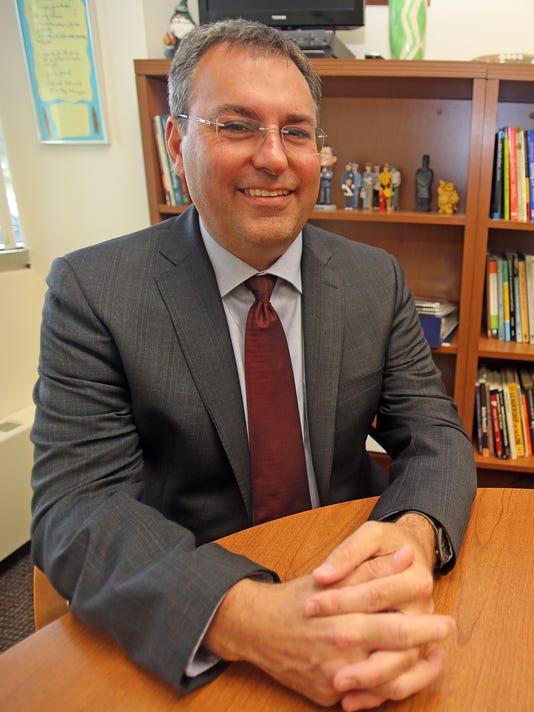 Rye School Superintendent Eric Byrne