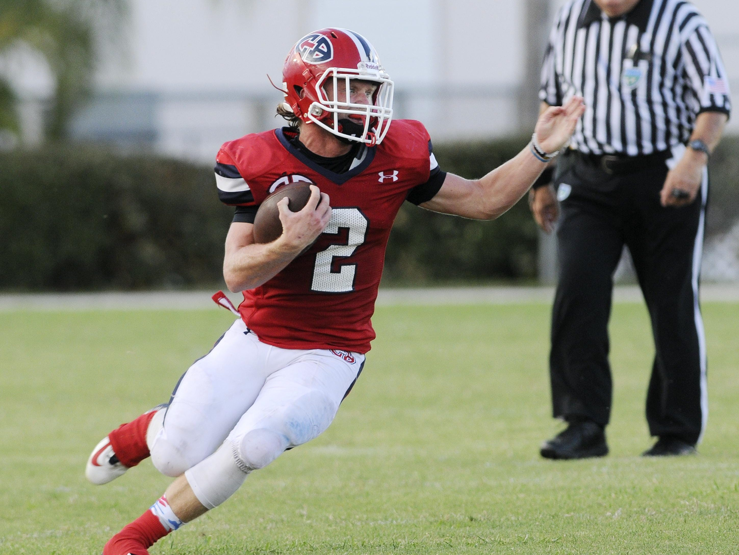 Cocoa Beach's David Demeter is FLORIDA TODAY's Athlete of the Week for Sept. 5-11.