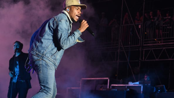 Chance the Rapper performs at  Bonnaroo Music and Arts