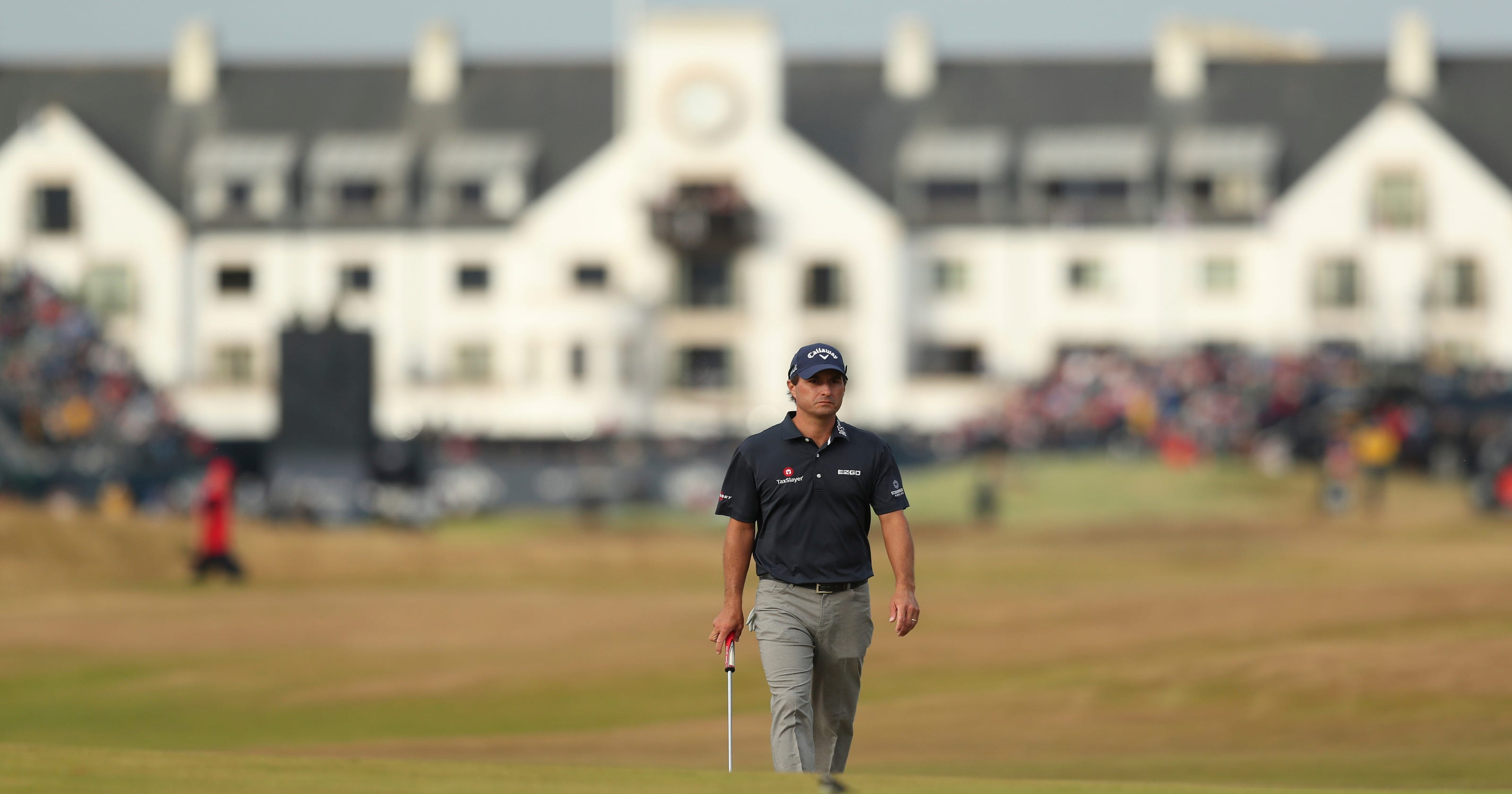 9ad2bd61196cb0 The Latest  Kisner drops out of lead at British Open
