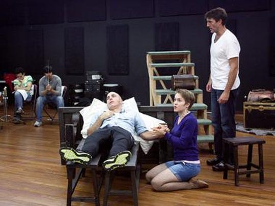 From left: William Michals, Jane Pfitsch and Patrick