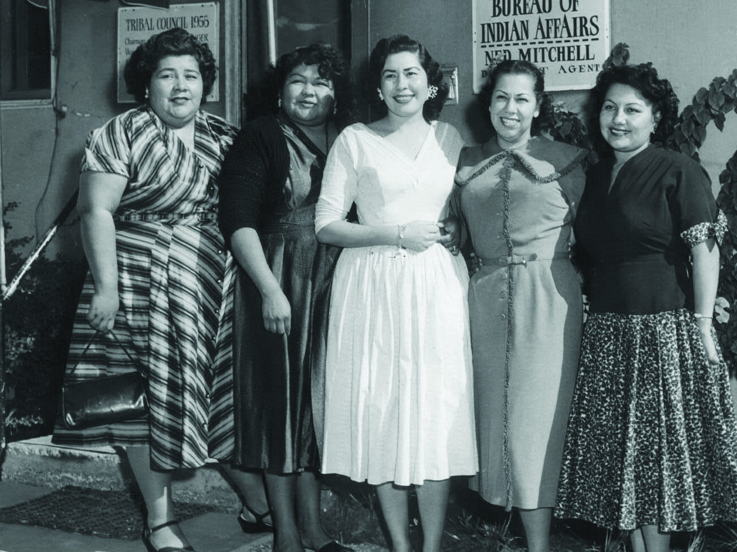 The all-woman Agua Caliente Band of Cahuilla Indians