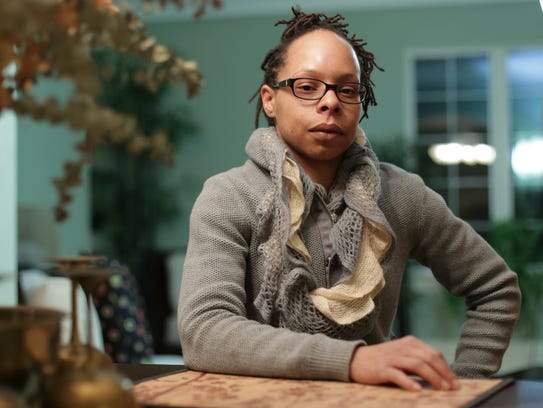 Dr. Tamar Jeffery, 36, of Detroit poses for a photo