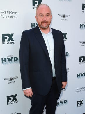Comedian Louis C.K. after years of denying rumors,