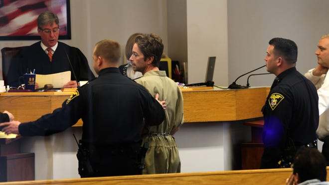 Scott Romero appeared  in Irondequoit Town Court after his arrest for allegedly running a snow plowing scam in the greater Rochester area.