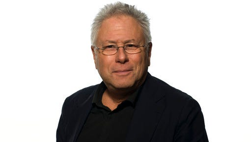 """In this March 5, 2017 photo, composer Alan Menken appears at the press junket for """"Beauty and the Beast,"""" at the Montage Hotel in Beverly Hills, Calif."""