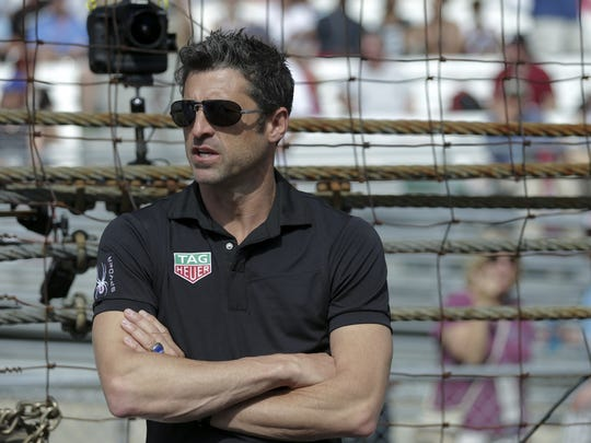 Patrick Dempsey served as honorary starter for the Indianapolis 500 in 2015.