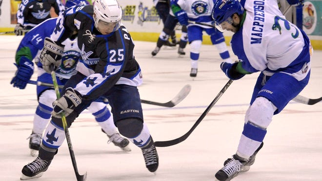 The Pensacola Ice Flyers' Adam Pawlick and teammates have become well acquainted with facing the Columbus Cottonmouths. The two teams play a fourth-consecutive time on Thursday in Columbus, Ga.