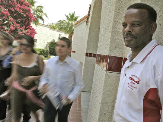 Palm Springs High School Principal Ricky Wright in a 2007 file photo.