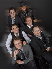 The jazz vocal group m-pact