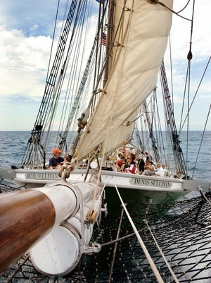 The tall ship Denis Sullivan will arrive in Sheboygan on Tuesday.
