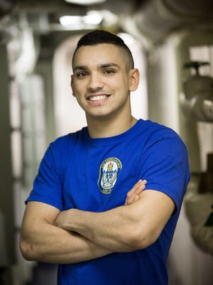 Fireman Antonio Rodriguez, a Green Brook native and 2016 Thomas Jefferson Arts Academy graduate, is serving in Japan in the U.S. Navy aboard USS Germantown.