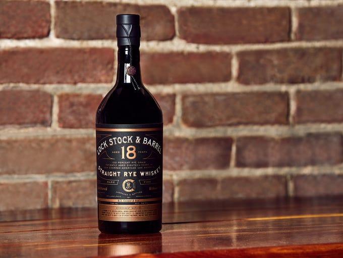 Lock Stock & Barrel 18 ($230) is a 100% rye whiskey