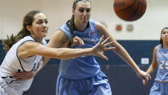 Middletown, NJ        Freehold Twsp at Middletown South girls basketball: 011215 Photo: Tom Spader/Staff Photographer