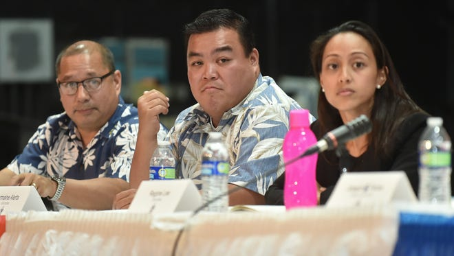 A forum for new senatorial and mayoral candidates took place at Simon Sanchez High School in Yigo on April 27.